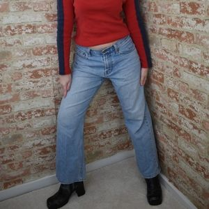 American Eagle Loose Fit Light Wash Jeans